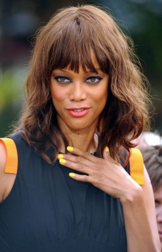 tyra-banks Luminous Yellow